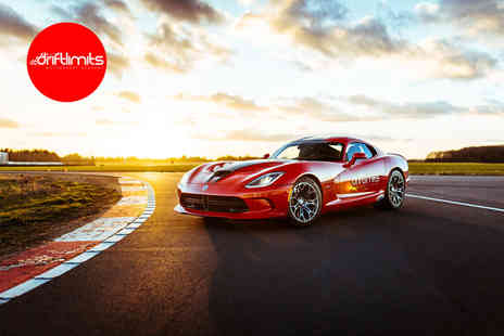 Drift Limits - 14 lap Dodge Viper VX SRT driving experience - Save 50%