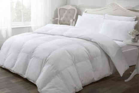 Cascade Home - Luxury like down duvet choose from three tog variations and three sizes - Save 0%