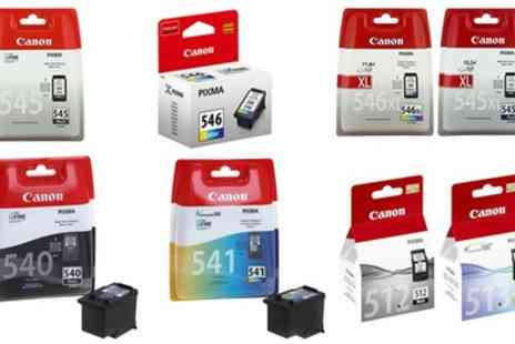 Raion - One or Two Canon Original Ink Cartridges With Free Delivery - Save 32%