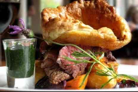 The Lion Hotel - Sunday Roast with Trimmings for Two or Four - Save 41%