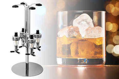 Who Needs Shops - Wall mounted four bottle spirit dispenser, Rotating four bottle spirit dispenser or Wall mounted six bottle spirit dispenser - Save 0%