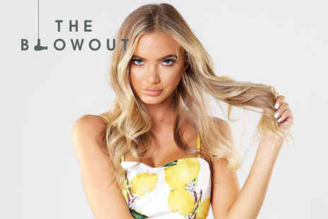 The Blow Out - Luxury professional cut and blow dry with a glass of Champagne - Save 62%