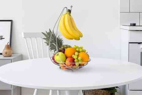 Groupon Goods Global GmbH - One or Two Hanging Fruit Basket Bowls - Save 64%