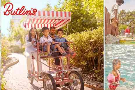 Butlins - Bognor Regis Term Time Weekend Day Passes - Save 40%