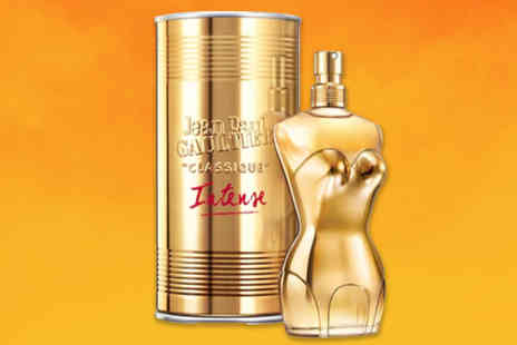 Wowcher Direct - 50ml bottle of Jean Paul Gaultier Classique Intense eau de parfum - Save 22%