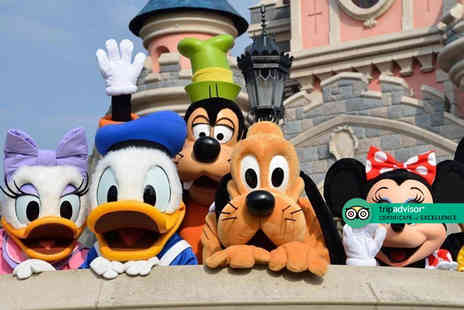 Super Escapes Travel - Four Star Two nights Disneyland Paris break with return flights - Save 27%