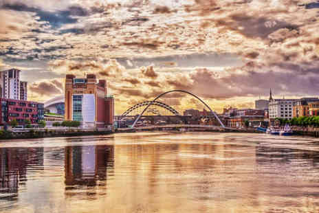 Maldron Hotel Newcastle - Four Star Overnight central Newcastle stay for two people with breakfast, glass of Prosecco each, three course dining and 12pm late check out - Save 44%