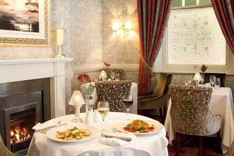 The George Hotel - AA Rosette awarded meal and wine for 2 - Save 36%