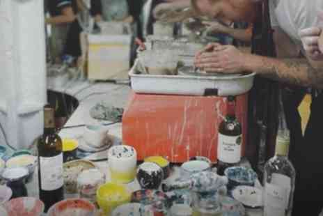 Token Studio - 90 Minute BYOB Pottery Painting or Making and Painting Experience - Save 36%