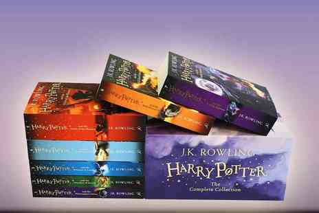 The Book Depository - Harry Potter Box Set The Complete Collection - Save 44%
