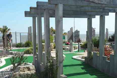 Greensward Cafe - Nine hole adventure golf game for one child - Save 50%