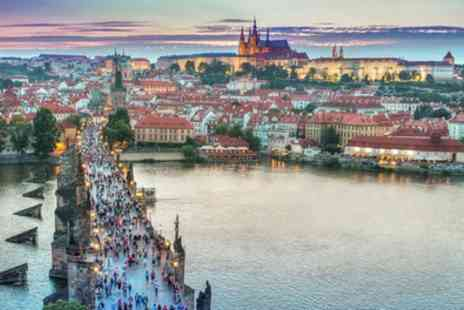 Prague, Budapest Vienna and Berlin or Bratislava - Eight Nights with Flights and Transfers Between the Cities - Save 0%