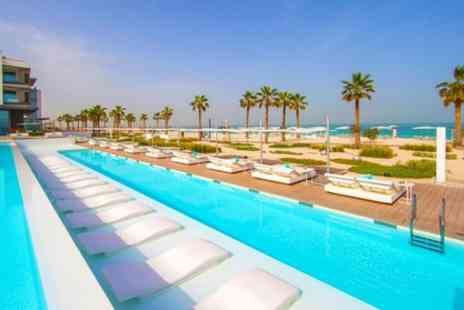 Nikki Beach Resort & Spa Dubai - Five Star Stay in the Covet Skyline View Room Free upgrade - Save 0%