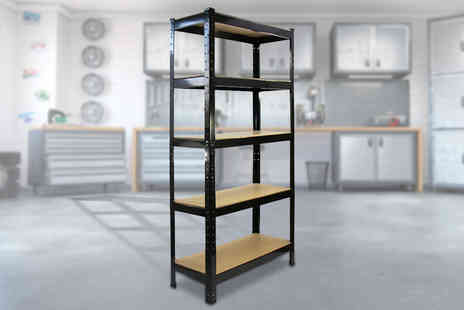 Monster Racking - Trax steel shelving unit - Save 73%