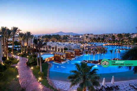 Exclusive Luxury Breaks - Five Star Escape with a 7, 10 or 14 nights getaway to Sharm El Sheikh, Egypt Now with the ability to choose your flights - Save 0%