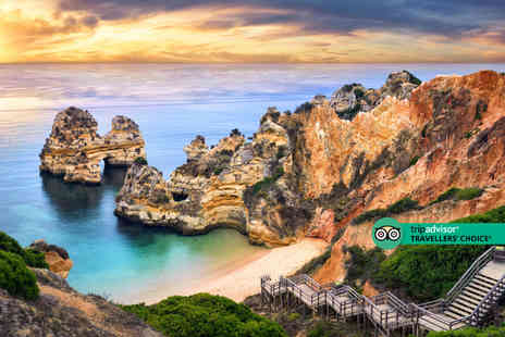 Exclusive Luxury Breaks - Four Star Escape with a three, four, five or seven nights getaway to Algarve, Portugal Now with the ability to choose your flights - Save 0%
