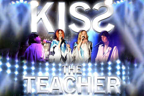 LIVEWORLD - One ticket to a Kiss the Teacher ABBA tribute concert  - Save 55%