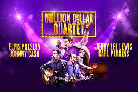 ATG Tickets - Band C ticket to Million Dollar Quartet, band B ticket or for a band A ticket choose from five shows - Save 39%