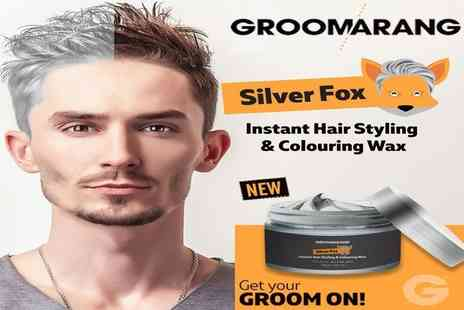Forever Cosmetics - Groomarang silver fox colouring wax silver ash - Save 77%