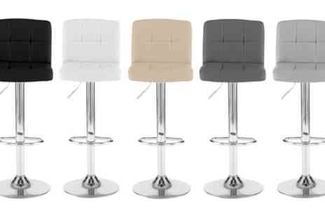 Groupon Goods Global GmbH - Two or Four Cube Bar Stools - Save 75%