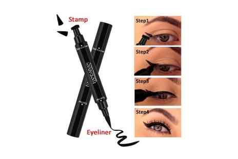 Forever cosmetics - 2 in 1 stamp liquid liner - Save 73%