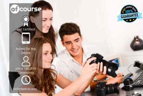 OfCourse - Online beginners photography course - Save 88%