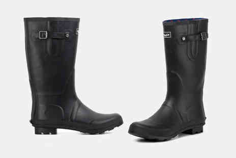 Redfoot - Pair of Glastonbury wellington boots choose from two colours - Save 0%
