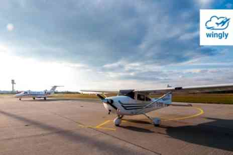 Wingly - One Hour Flying Experience for Up to Three - Save 19%