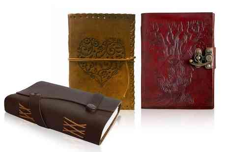 woodland Leathers - Leather journal choose your design - Save 40%