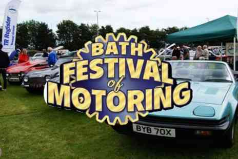 Bath Festival Of Motoring - One or two tickets from 20th To 21st June 2020 - Save 0%