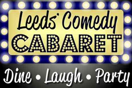 Comedy Cabaret - Entry with After Party and Optional Prosecco for Up to Four - Save 55%