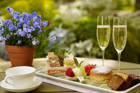 DoubleTree By Hilton London Hyde Park Hotel - Afternoon tea for two people with a bottle of bubby to share - Save 0%