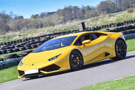 Supercar Test Drives - Three lap driving experience in a Lamborghini Huracán on a weekday - Save 74%