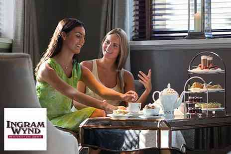 Ingram Wynd - Afternoon tea for two people - Save 50%