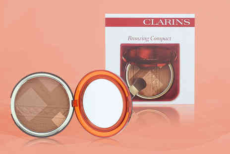 Wowcher Direct - Clarins travel exclusive bronzing compact - Save 28%