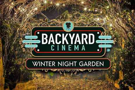 Backyard Cinema - Venture through a magical wardrobe and experience cinema as you have never seen it before - Save 37%