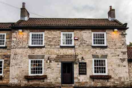 Bay Horse Goldsborough - North Yorkshire country inn stay - Save 58%