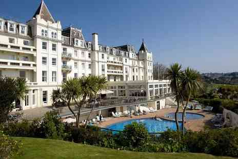 The Grand Hotel - Four Star 19th Century Seafront Hotel with Spa for two - Save 38%
