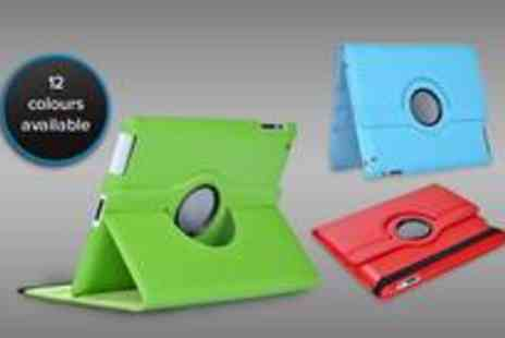 Thats Wow - 360 degree rotating PU leather case for your iPad 2 or 3 - Save 80%