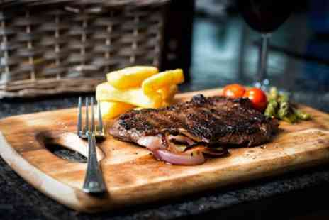 Red Lion Coaching Inn - Rump Steak with Glass of Wine for Two or Four - Save 38%