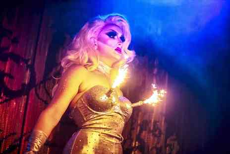 Proud Cabaret - Burlesque or drag cabaret show with three course dining, a cocktail and after party entry - Save 55%
