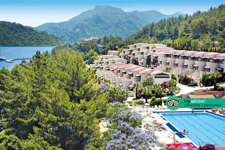 Travelsoon - Four Star Seven nights all inclusive Marmaris, Turkey holiday with return flights - Save 31%