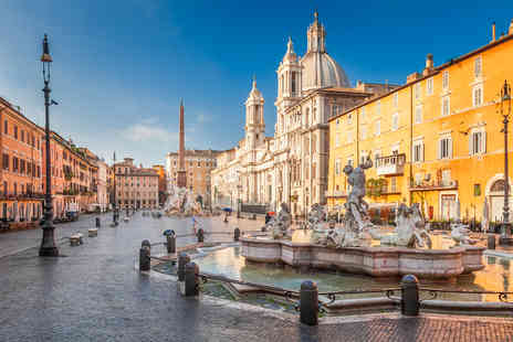 Travelsoon - Two nights Rome, Italy stay with breakfast and return flights - Save 52%