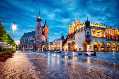 Travelsoon - Four Star Two nights Krakow, Poland stay with breakfast and return flights - Save 40%