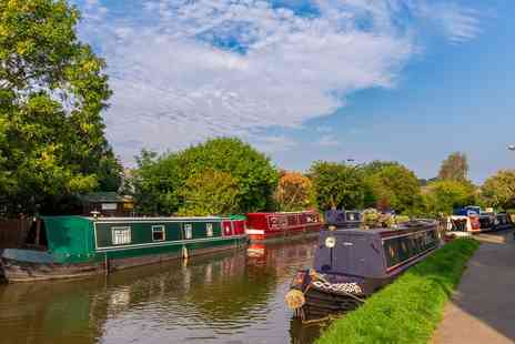 Skipton Boat Hire - One hour scenic canal cruise for Two - Save 38%
