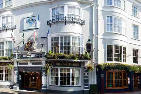 The Royal & Fortescue Hotel - Devon inn escape with bottle of bubbly - Save 0%