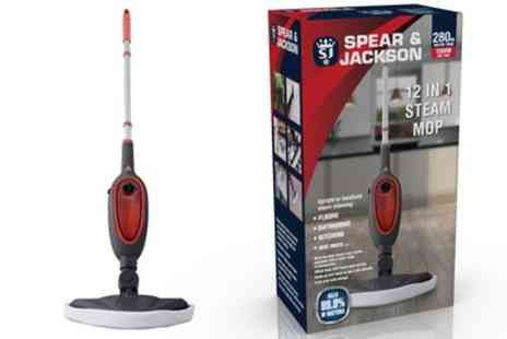 Groupon Goods Global GmbH - Spear & Jackson 12 in 1 Steam Mop - Save 10%