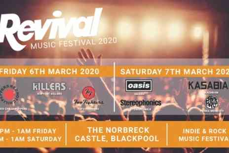 Revival Music Festival 2020 - One standard day or weekend ticket from 6th To 7 March 2020 - Save 34%