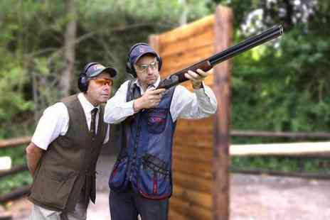 Adventure 001 - Clay pigeon shooting experience for one - Save 52%