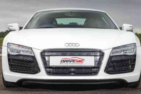 Drive Me - Audi R8 Supercar Three to Six Lap Driving Experience - Save 43%
